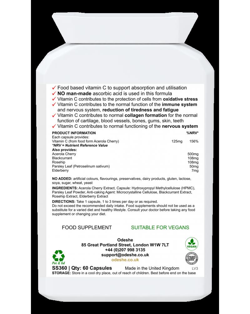 Plant-Sourced Vitamin C